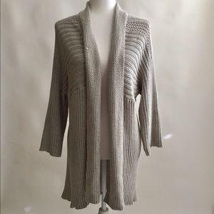 Chico's Sweater Jacket Size 3